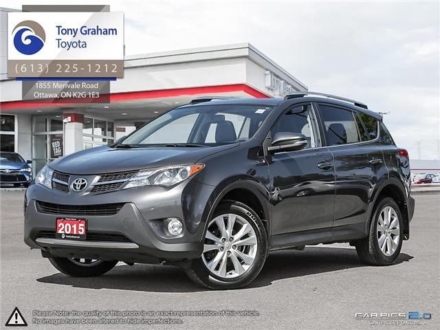 2015 Toyota RAV4 Limited (Stk: E7603) in Ottawa - Image 1 of 27