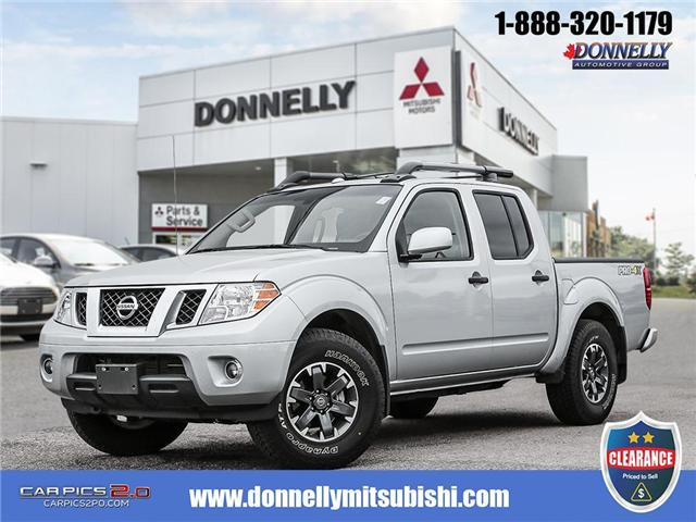 2018 Nissan Frontier PRO-4X (Stk: CLMUR905) in Kanata - Image 1 of 27
