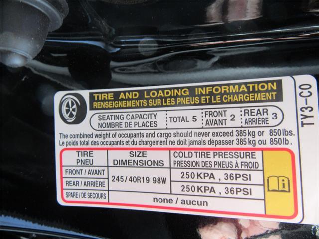 2018 Acura RLX Sport Hybrid Technology (Stk: 48070) in Saskatoon - Image 19 of 21