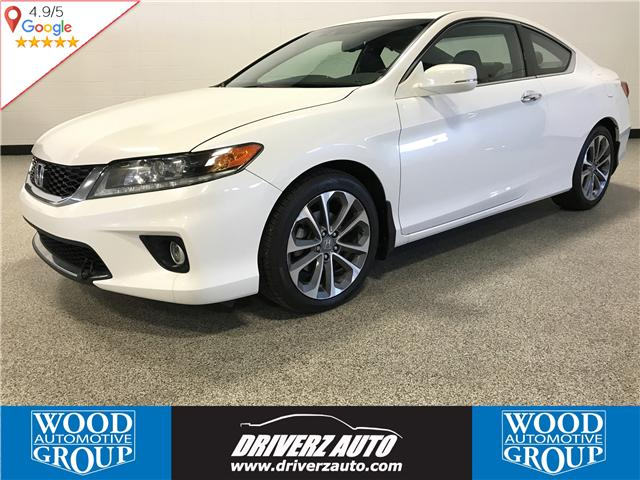 2013 Honda Accord EX-L-NAVI V6 (Stk: B11677) in Calgary - Image 1 of 12