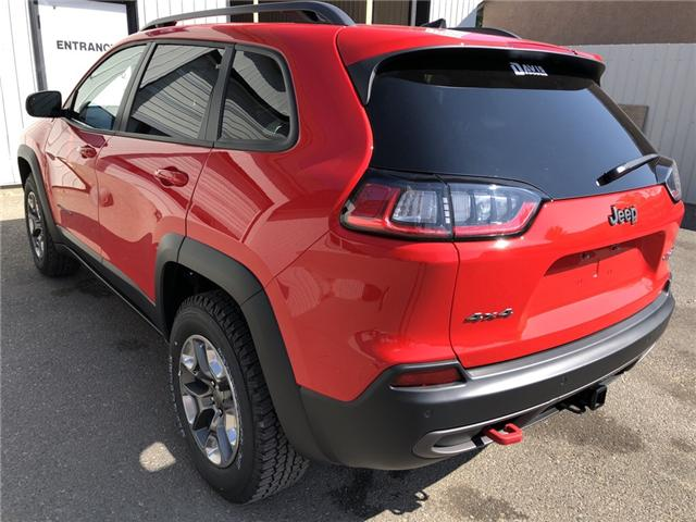 2019 Jeep Cherokee Trailhawk (Stk: 13655) in Fort Macleod - Image 3 of 21