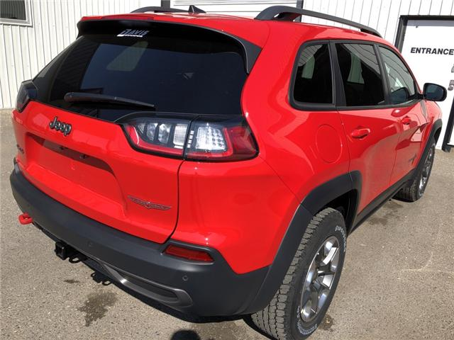 2019 Jeep Cherokee Trailhawk (Stk: 13655) in Fort Macleod - Image 6 of 21