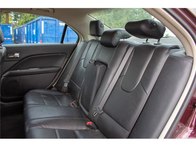 2012 Ford Fusion SEL (Stk: P1338A) in Surrey - Image 11 of 22