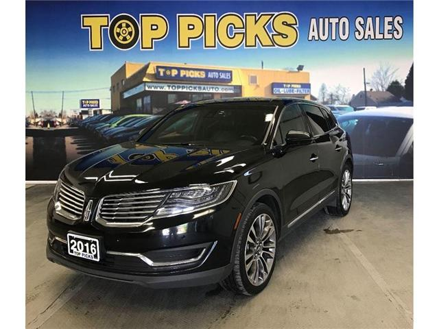 2016 Lincoln MKX Reserve (Stk: 45640) in NORTH BAY - Image 1 of 18