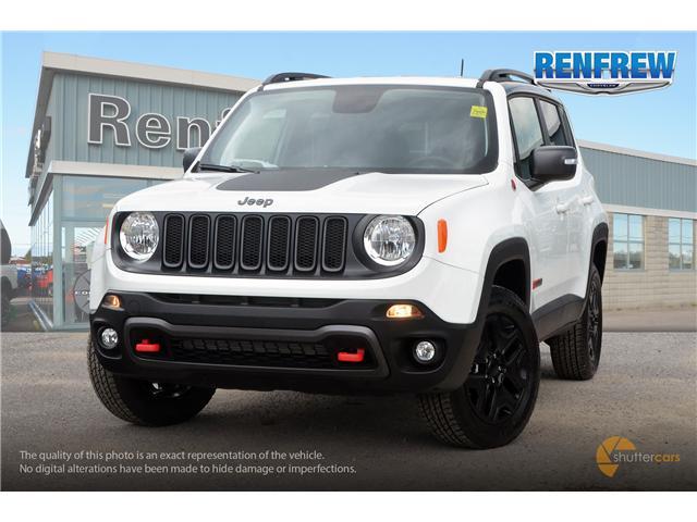 2018 Jeep Renegade Trailhawk (Stk: J196) in Renfrew - Image 1 of 20