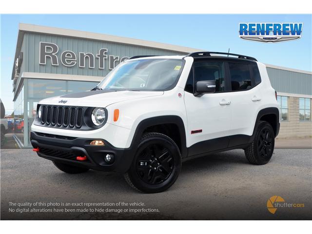 2018 Jeep Renegade Trailhawk (Stk: J196) in Renfrew - Image 2 of 20