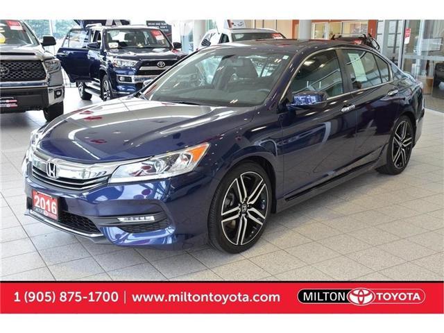 2016 Honda Accord Sport (Stk: 802971) in Milton - Image 1 of 41
