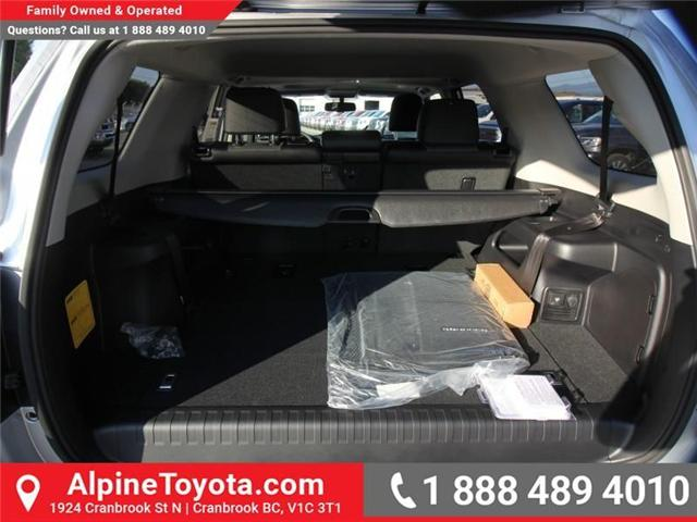 2018 Toyota 4Runner SR5 (Stk: 5602829) in Cranbrook - Image 17 of 18