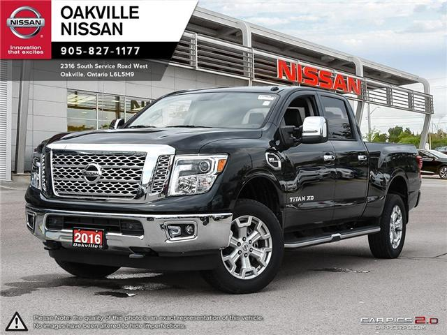 2016 Nissan Titan XD SL Gas (Stk: N17492A) in Oakville - Image 1 of 20