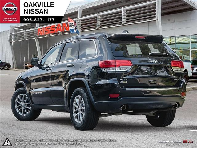 2014 Jeep Grand Cherokee Limited (Stk: N18168A) in Oakville - Image 4 of 24
