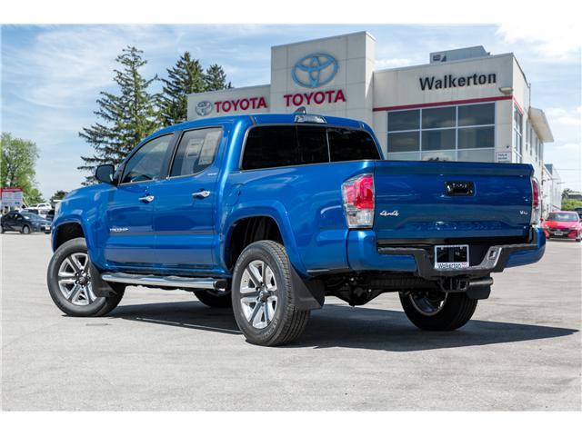 2018 Toyota Tacoma Limited (Stk: 18219) in Walkerton - Image 4 of 10