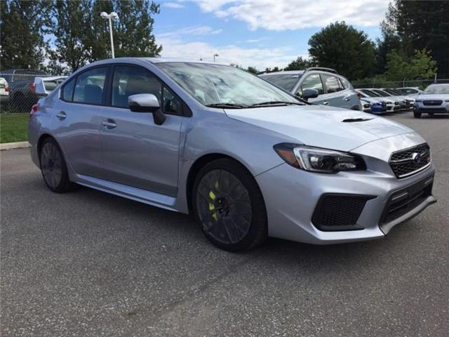 2019 Subaru Wrx Sti Sport Tech W Wing Navigation For Sale In