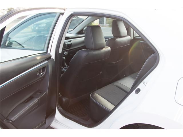 2014 Toyota Corolla S (Stk: P318) in Brandon - Image 10 of 10