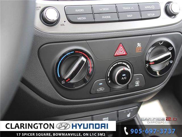 2019 Hyundai Accent Preferred (Stk: 18602) in Clarington - Image 14 of 27