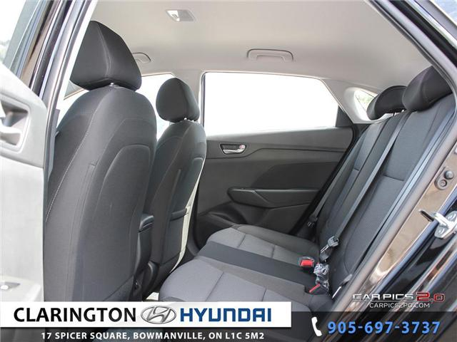 2019 Hyundai Accent Preferred (Stk: 18602) in Clarington - Image 19 of 27