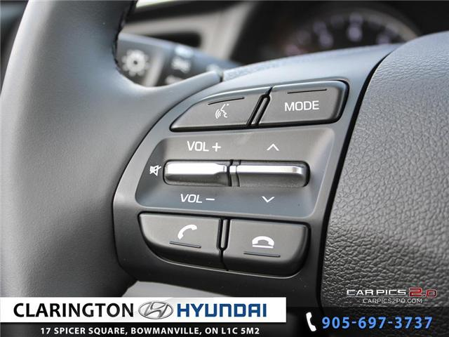 2019 Hyundai Elantra Preferred (Stk: 18605) in Clarington - Image 11 of 27