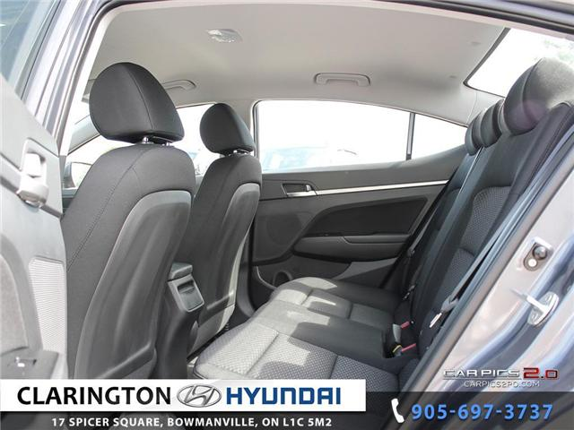 2019 Hyundai Elantra Preferred (Stk: 18605) in Clarington - Image 19 of 27