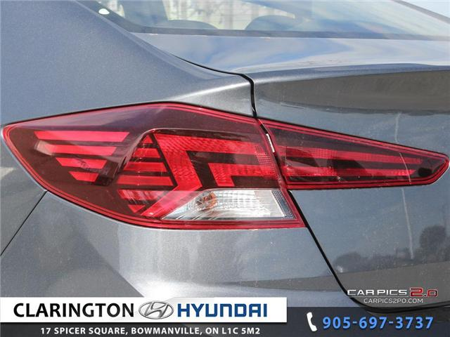 2019 Hyundai Elantra Preferred (Stk: 18605) in Clarington - Image 27 of 27