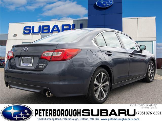 2017 Subaru Legacy 3.6R Limited (Stk: S2885) in Peterborough - Image 5 of 26