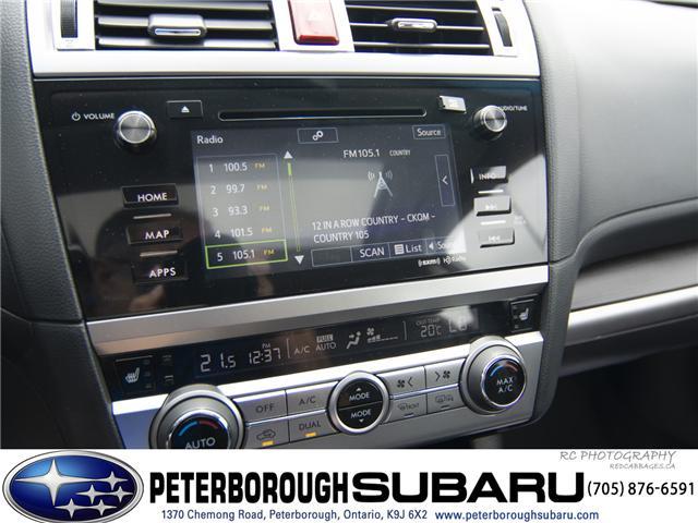 2017 Subaru Legacy 3.6R Limited (Stk: S2885) in Peterborough - Image 17 of 26