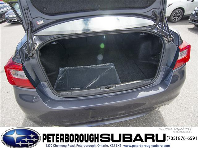 2017 Subaru Legacy 3.6R Limited (Stk: S2885) in Peterborough - Image 25 of 26