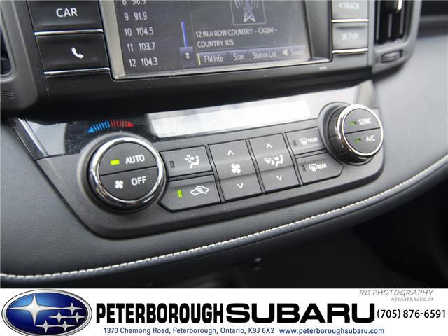 2017 Toyota RAV4 XLE (Stk: SP0168) in Peterborough - Image 16 of 20