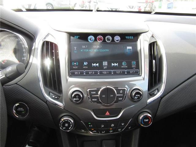 2016 Chevrolet Cruze LT Auto (Stk: N18351A) in Hamilton - Image 11 of 17
