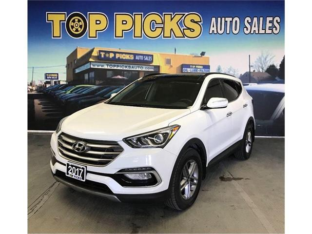 2017 Hyundai Santa Fe Sport 2.4 (Stk: 462386) in NORTH BAY - Image 1 of 15