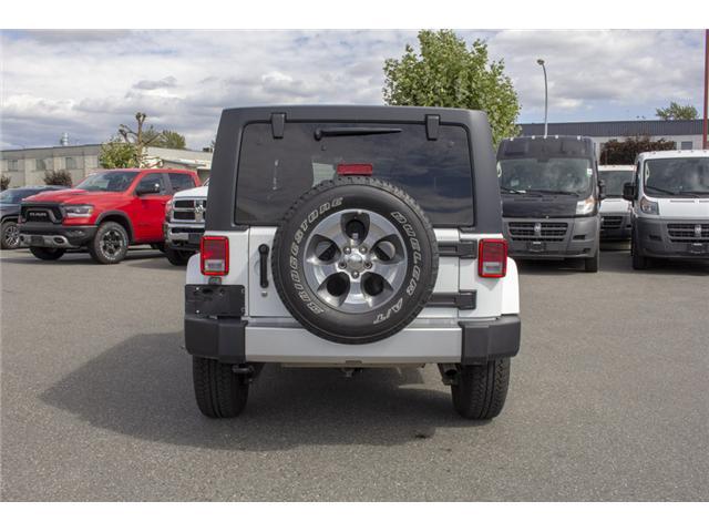 2018 Jeep Wrangler JK Unlimited Sahara (Stk: EE896500) in Surrey - Image 6 of 23