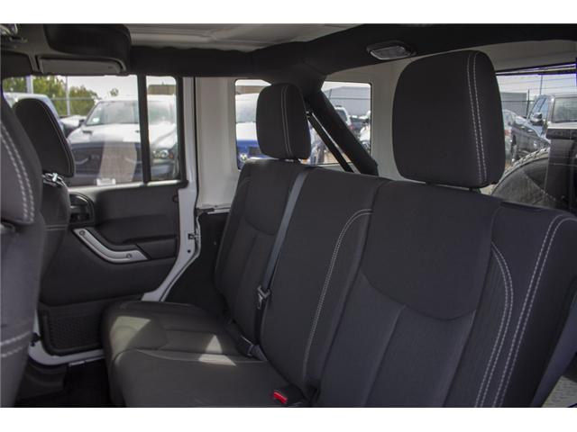 2018 Jeep Wrangler JK Unlimited Sahara (Stk: EE896500) in Surrey - Image 13 of 23