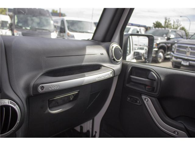 2018 Jeep Wrangler JK Unlimited Sahara (Stk: EE896500) in Surrey - Image 22 of 23