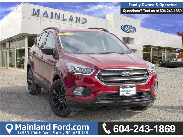 2018 Ford Escape SE (Stk: 8ES1287) in Surrey - Image 1 of 24