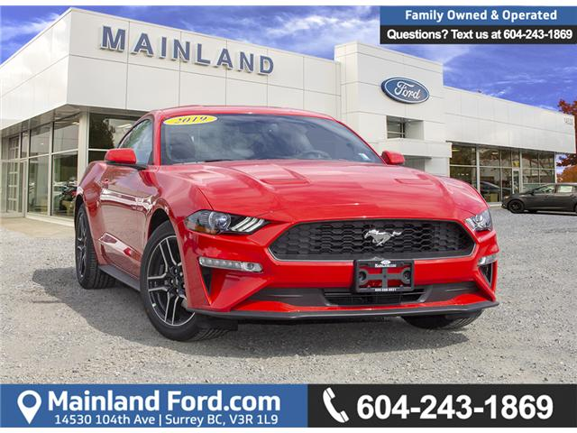 2019 Ford Mustang EcoBoost (Stk: 9MU3127) in Vancouver - Image 1 of 23