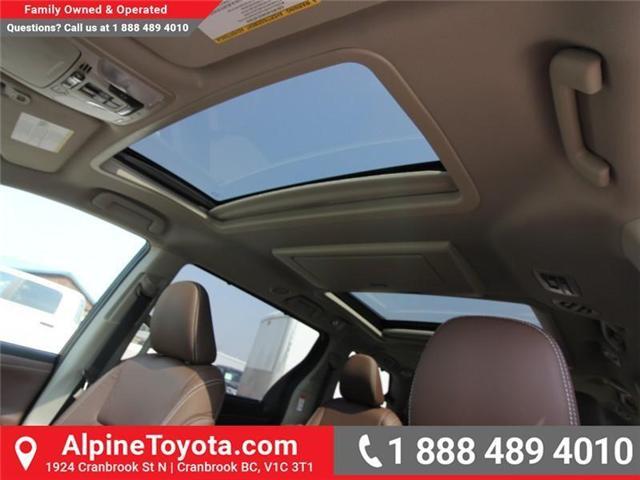 2018 Toyota Sienna XLE 7-Passenger (Stk: S207635) in Cranbrook - Image 16 of 20