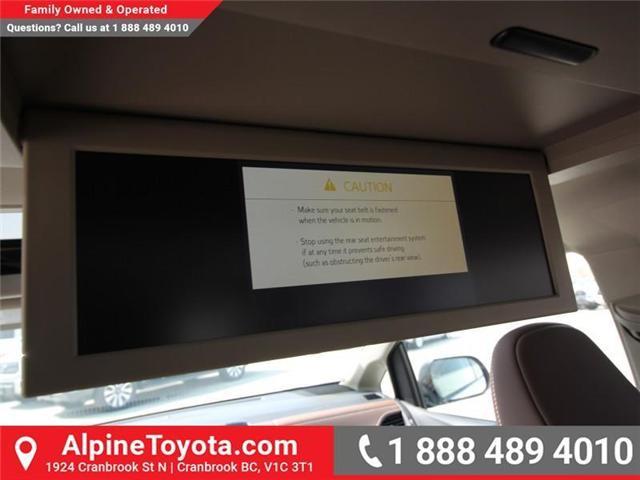2018 Toyota Sienna XLE 7-Passenger (Stk: S207635) in Cranbrook - Image 17 of 20