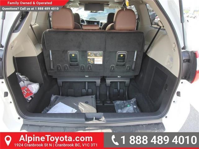 2018 Toyota Sienna XLE 7-Passenger (Stk: S207635) in Cranbrook - Image 18 of 20