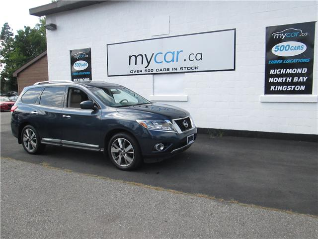 2015 Nissan Pathfinder Platinum (Stk: 181114) in Richmond - Image 2 of 15