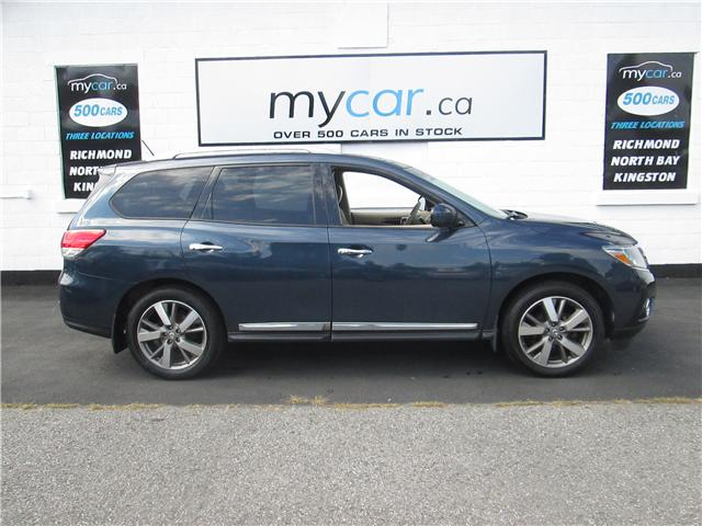 2015 Nissan Pathfinder Platinum (Stk: 181114) in Richmond - Image 1 of 15