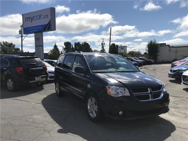 2017 Dodge Grand Caravan Crew (Stk: 181208) in North Bay - Image 1 of 15