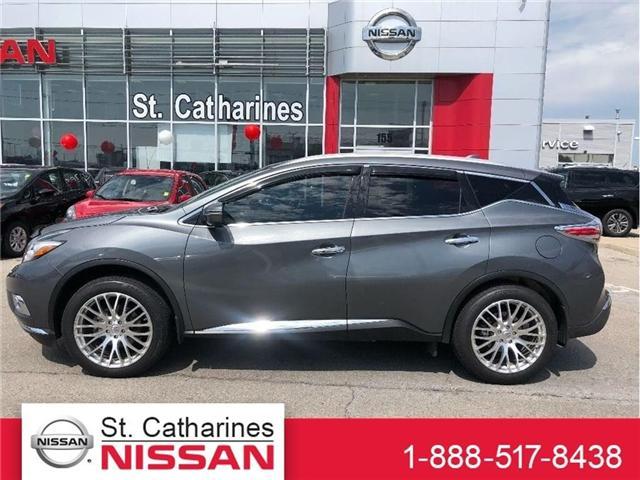 2017 Nissan Murano Platinum (Stk: P-2080) in St. Catharines - Image 1 of 21