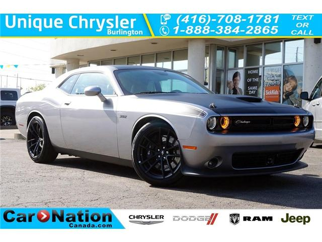 2018 Dodge Challenger R/T 392| T/A| BREMBO| MOPAR HOOD PIN KIT| TECH GRP (Stk: NOU-143174-J187) in Burlington - Image 1 of 30