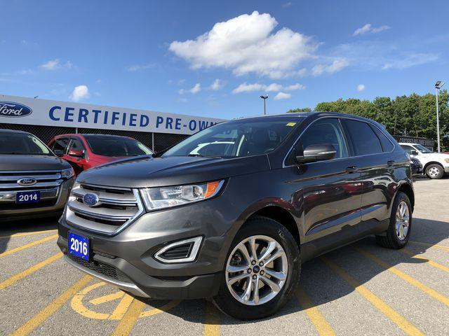 2016 Ford Edge SEL (Stk: ED181302A) in Barrie - Image 1 of 30