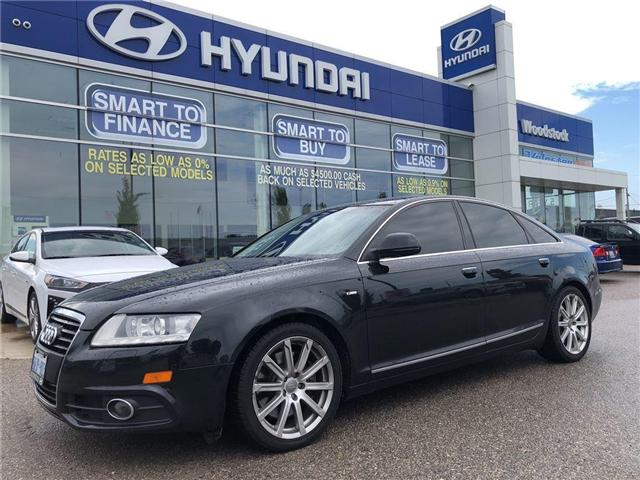 2010 Audi A6  (Stk: P1295A) in Woodstock - Image 1 of 29