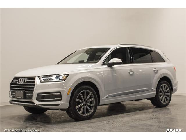 2018 Audi Q7 3.0T Progressiv (Stk: T15444) in Vaughan - Image 1 of 7