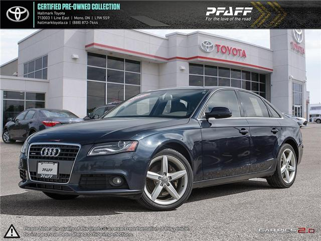 2012 Audi A4 2.0T Prem Tiptronic qtro Sdn (Stk: H18757A) in Orangeville - Image 1 of 25