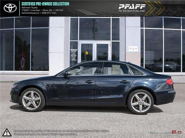 2012 Audi A4 2.0T Prem Tiptronic qtro Sdn (Stk: H18757A) in Orangeville - Image 2 of 25
