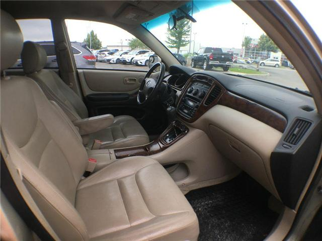 2003 Toyota Highlander BOXING DAY ONLY 4WD V6 B PKG LEATHER, ALLOY WHEELS (Stk: 41100A) in Brampton - Image 21 of 23