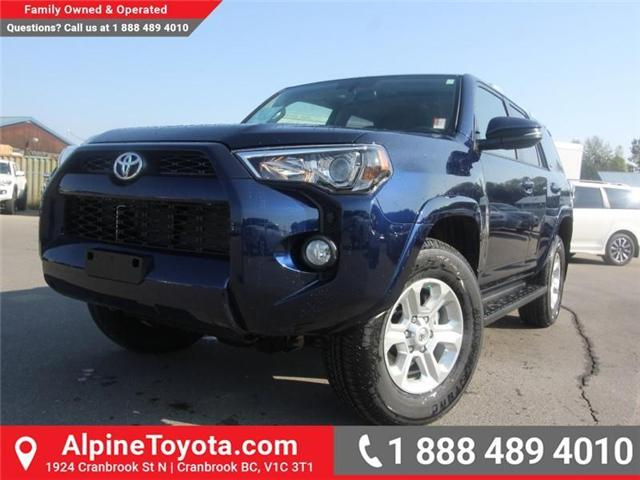 2018 Toyota 4Runner SR5 (Stk: 5606357) in Cranbrook - Image 1 of 18