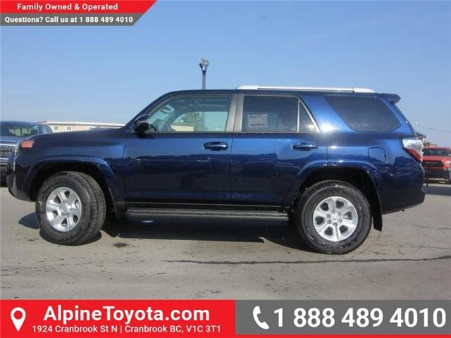 2018 Toyota 4Runner SR5 (Stk: 5606357) in Cranbrook - Image 2 of 18