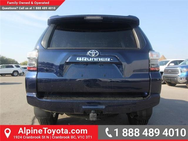2018 Toyota 4Runner SR5 (Stk: 5606357) in Cranbrook - Image 4 of 18